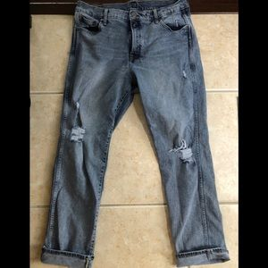 Gap distressed jeans